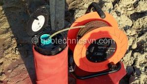 Máy đo mực nước và giếng quan trắc mực nước ngầm - Thiết bị quan trắc thấm