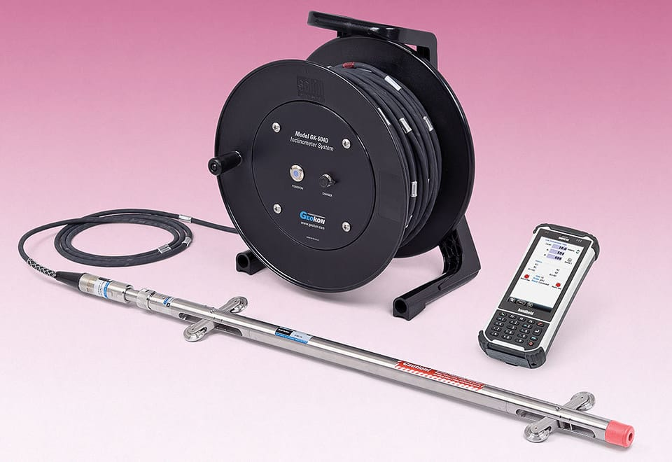 Hệ thống ghi đo chuyển vị ngang kỹ thuật số MEMS Inclinometer - USA