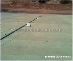 Thiết bị đo nghiêng lắp tại hạ lưu đập