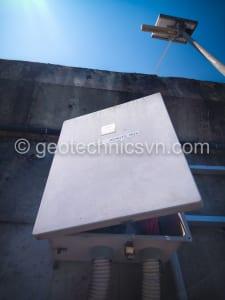 Trạm quan trắc dùng pin mặt trời