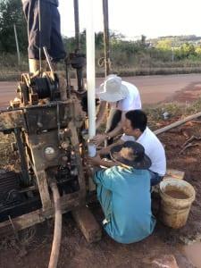 Lắp đặt ống vách đo chuyển vị ngang Inclinometer Casing
