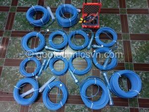 14 thiết bị đo thấm - áp lực nước Piezometer và máy đọc
