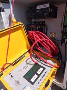 Sử dụng máy đọc VW Data Recorder để kiểm tra các cảm biến trạm Place 1