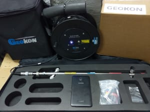 Bộ ghi đo chuyển vị ngang Inclinometer GK-604D kèm theo máy tính bảng