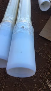 Ống vách gắn sẵn ống nối đo chuyển vị ngang Inclinometer Casing
