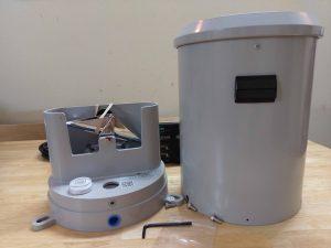 Các thành phần của thiết bị đo mưa CS700
