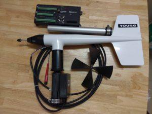 Thiết bị đo gió Wind Monitor 05103 và Datalogger CR1000