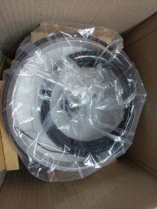 Thiết bị đo mưa CS700 trong hộp bảo vệ