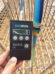 Ghi đo thiết bị ứng suất cốt thép Rebar Strainmeter 4911-4