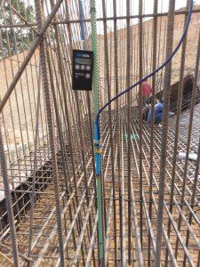 Lắp đặt thiết bị ứng suất cốt thép Rebar Strainmeter 4911-4