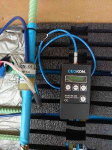 Máy đọc GK-404 và thiết bị đo ứng suất cốt thép Rebar Strainmeter 4911-4