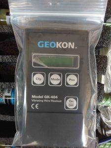Máy đọc thiết bị dây rung cầm tay GK-404