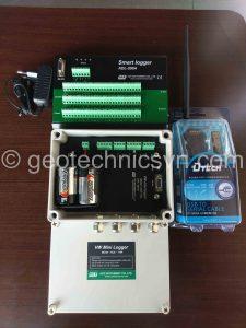 Smart Logger và Mini Logger đo thiết bị dây rung tự động