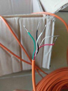 Cung cấp thiết bị quan trắc_thuỷ_điện_Tân_Lộc: Cáp tín hiệu thiết bị đo ứng suất cốt thép Rebar Stressmeter - ACE-Hàn Quốc