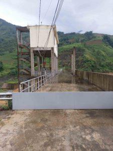 Đập bê tông - Nhà máy thuỷ điện Cốc San - Lào Cai