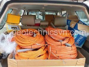 Vận chuyển toàn bộ lô thiết bị quan trắc đến công trình tại Nghệ An