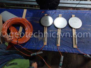 Thiết bị quan trắc đập thuỷ_điện: Tấm đo áp lực Pressure Cell